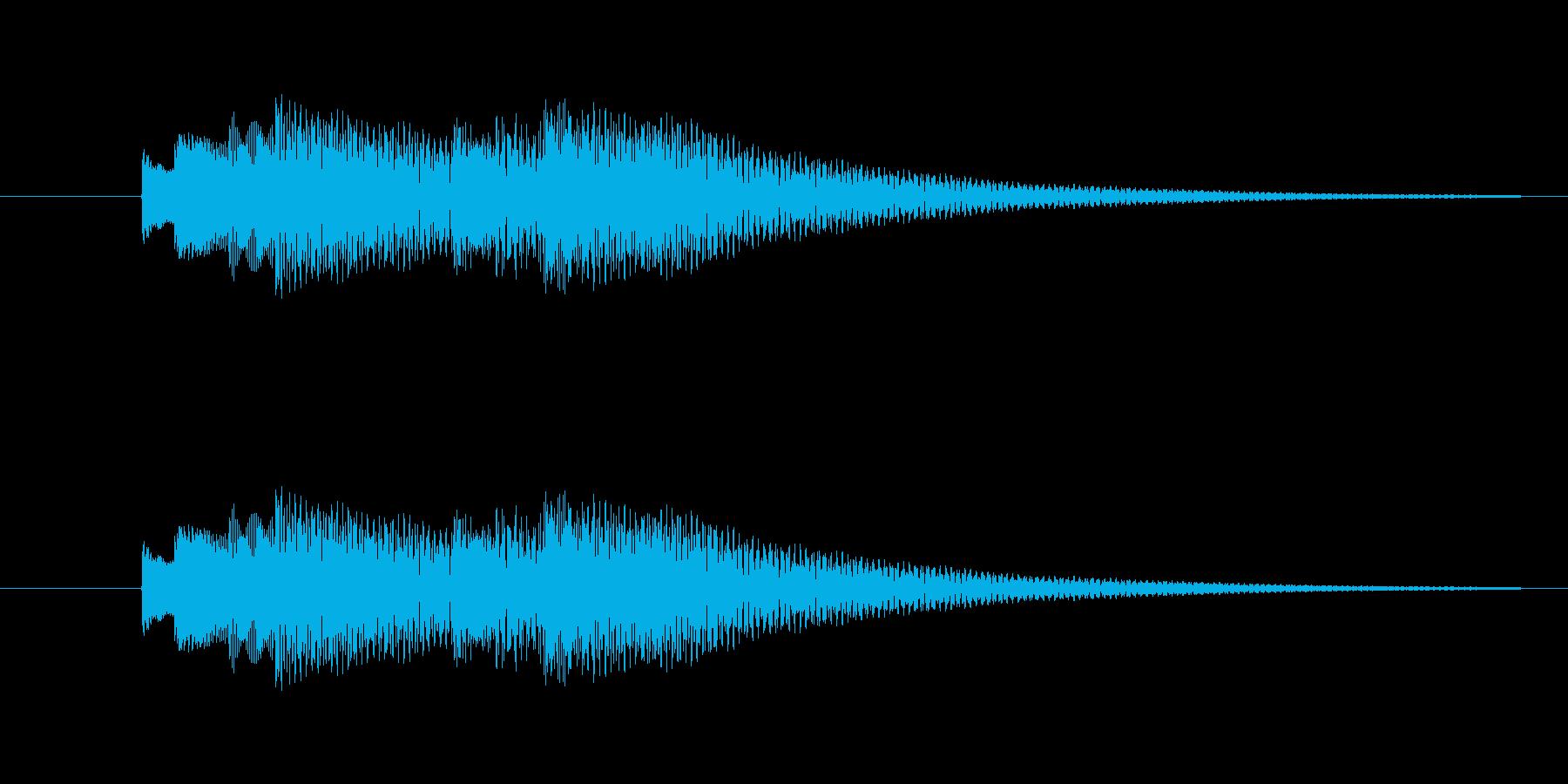 bell06のフレーズが2回続いたもの…の再生済みの波形