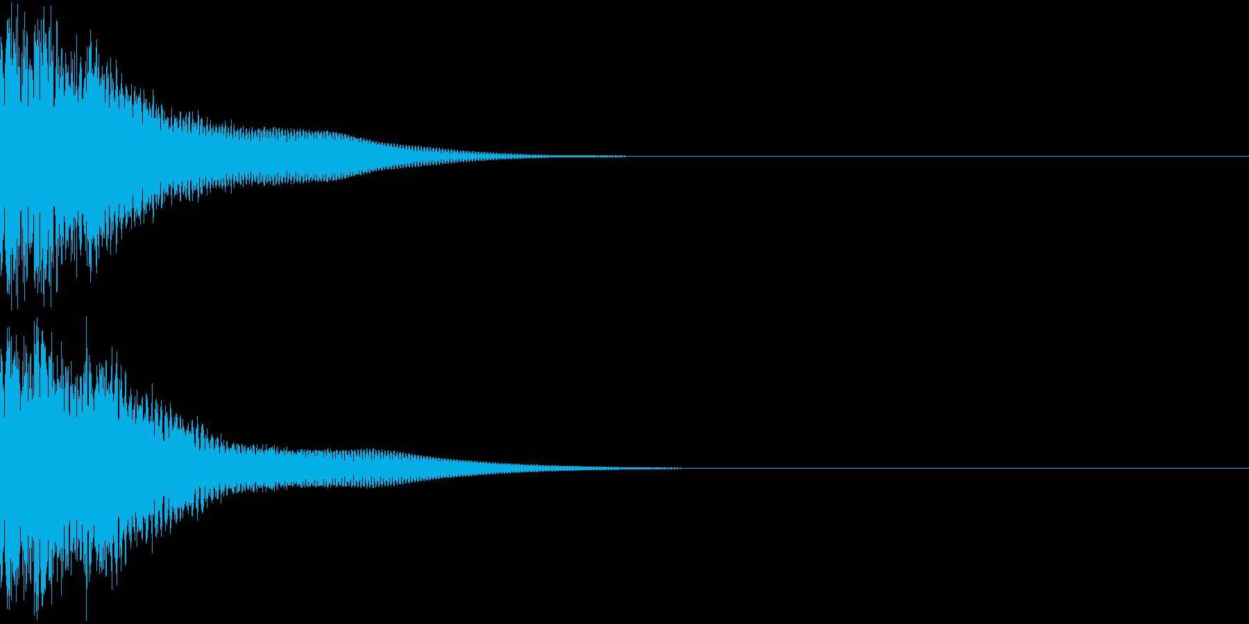 光る  輝く  キュピーン  キラーンCの再生済みの波形