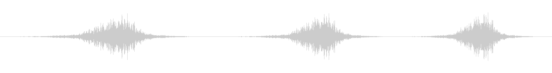 マウンテンピークフライバイの低音の未再生の波形