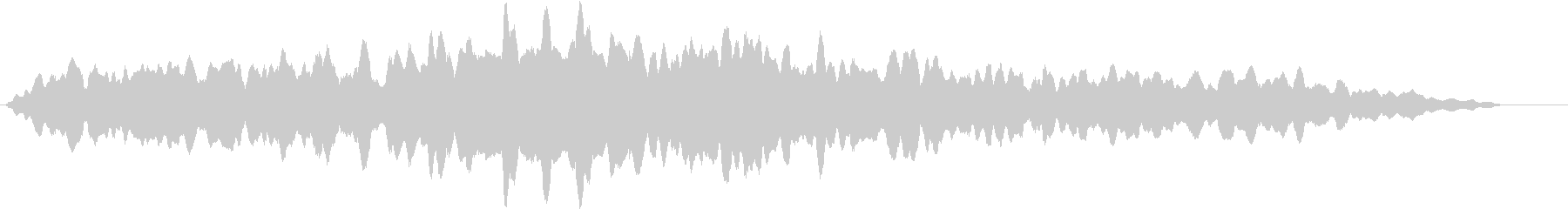 磁気電源の未再生の波形