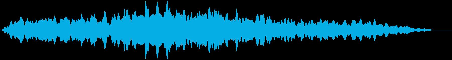 磁気電源の再生済みの波形