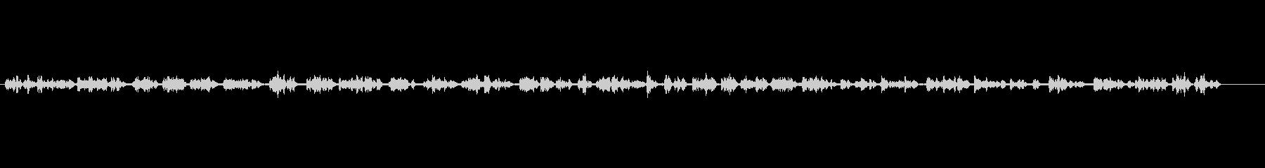テレビ;厚い壁を通した音楽付き男性...の未再生の波形