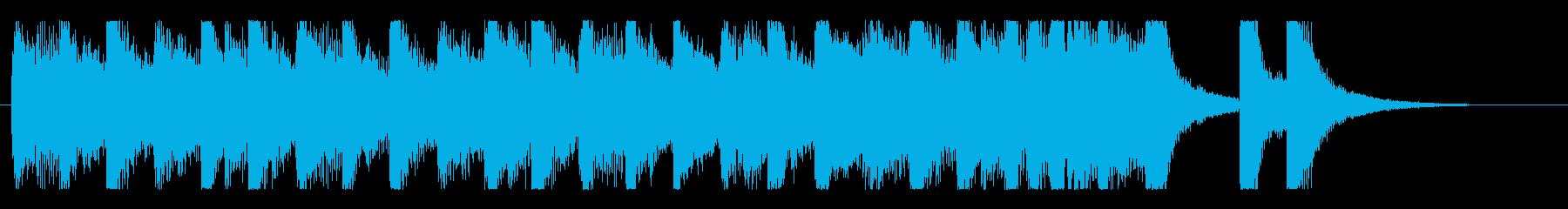 コミカルで怪しげなオーケストラワルツの再生済みの波形