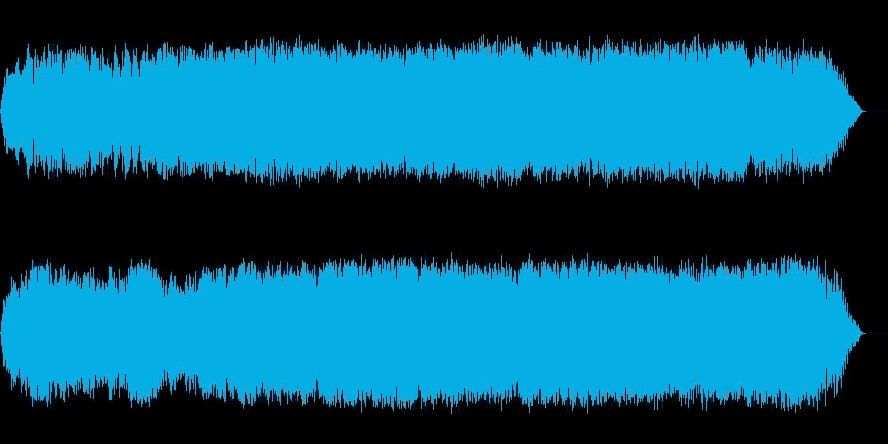 幻想的で壮大な宇宙感溢れる曲の再生済みの波形