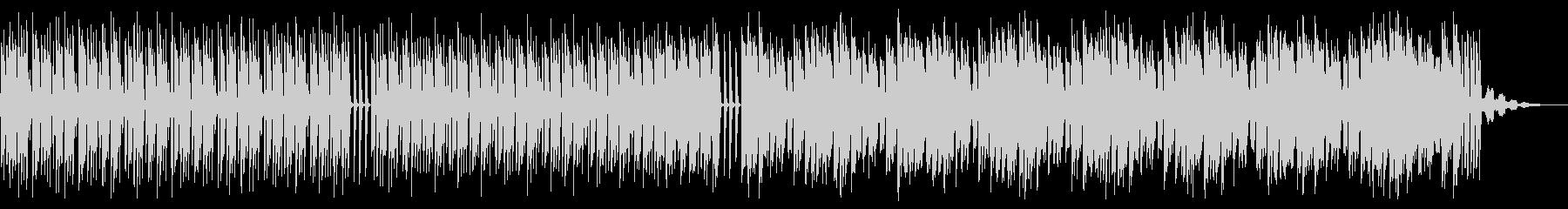 シンプルでビートの強いテクノ_3の未再生の波形