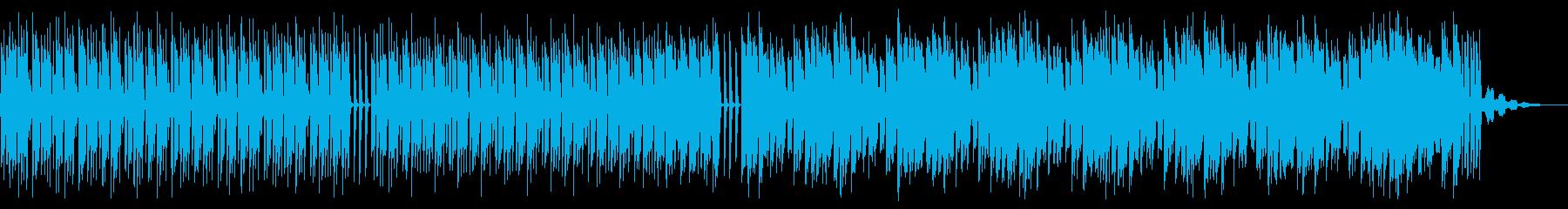 シンプルでビートの強いテクノ_3の再生済みの波形