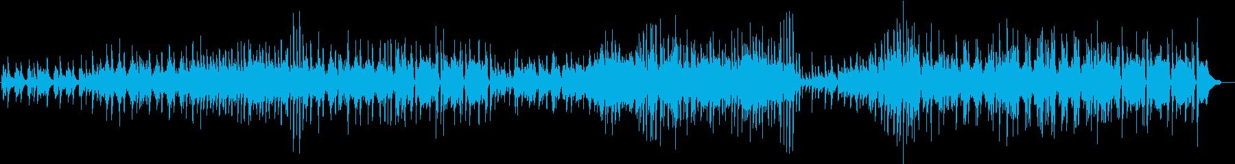 ささやかな希望をテーマにしたピアノソロ曲の再生済みの波形