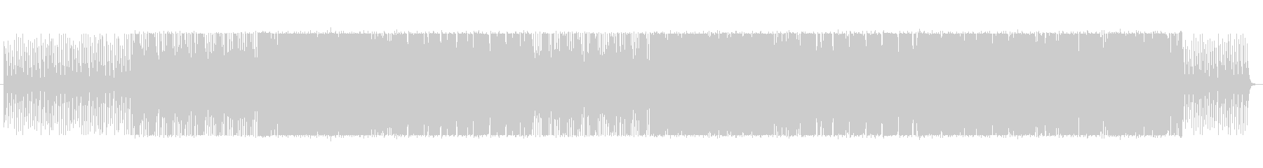 CMにオリエンタルなエレクトロの未再生の波形