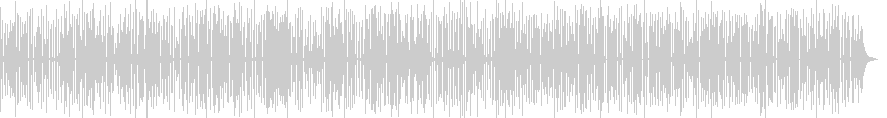 レトロな映像向けわくわくするジャズピアノの未再生の波形