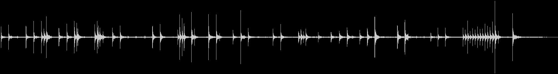 ダブルエンドバッグ:ボクサーワーク...の未再生の波形