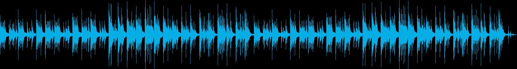 ピアノによるヒーリング音楽でリラックスの再生済みの波形