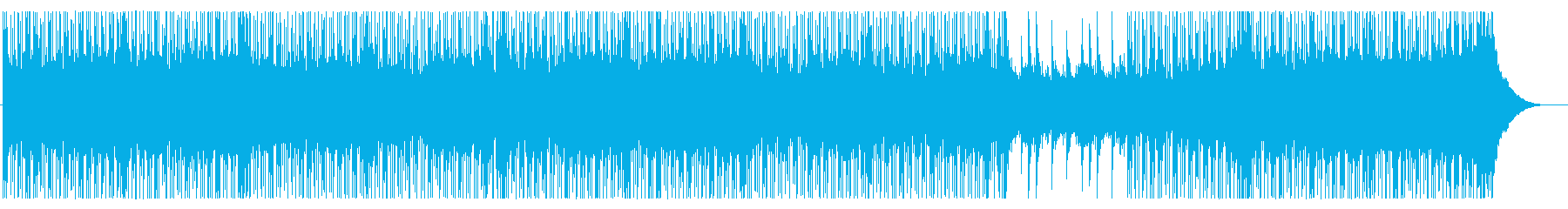 若々しく疾走感ある元気なピアノロックの再生済みの波形