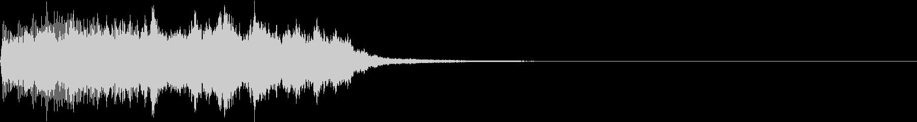 SE ポワーン クイズ出題前 上昇音 2の未再生の波形