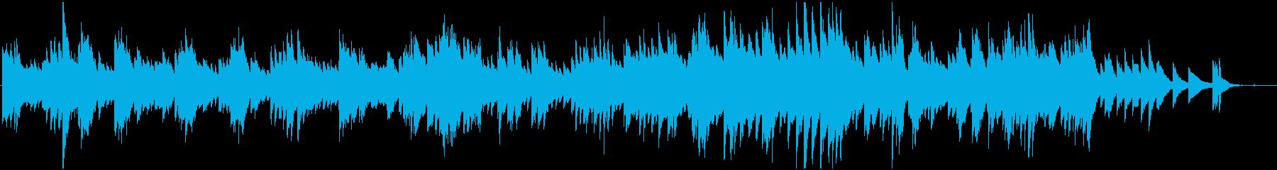 感動シーンの演出にの再生済みの波形