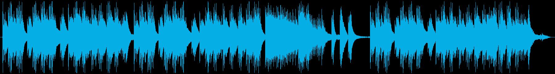 木かげでの再生済みの波形
