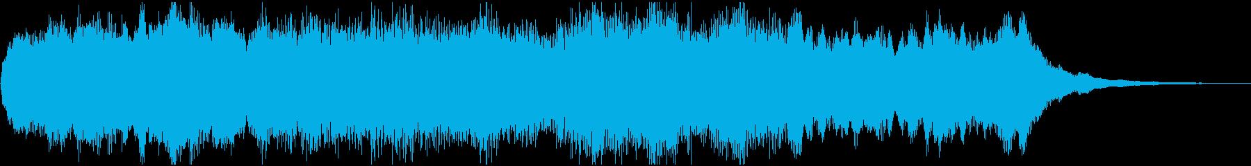 ジングル:きらめき、ゲームクリアの再生済みの波形