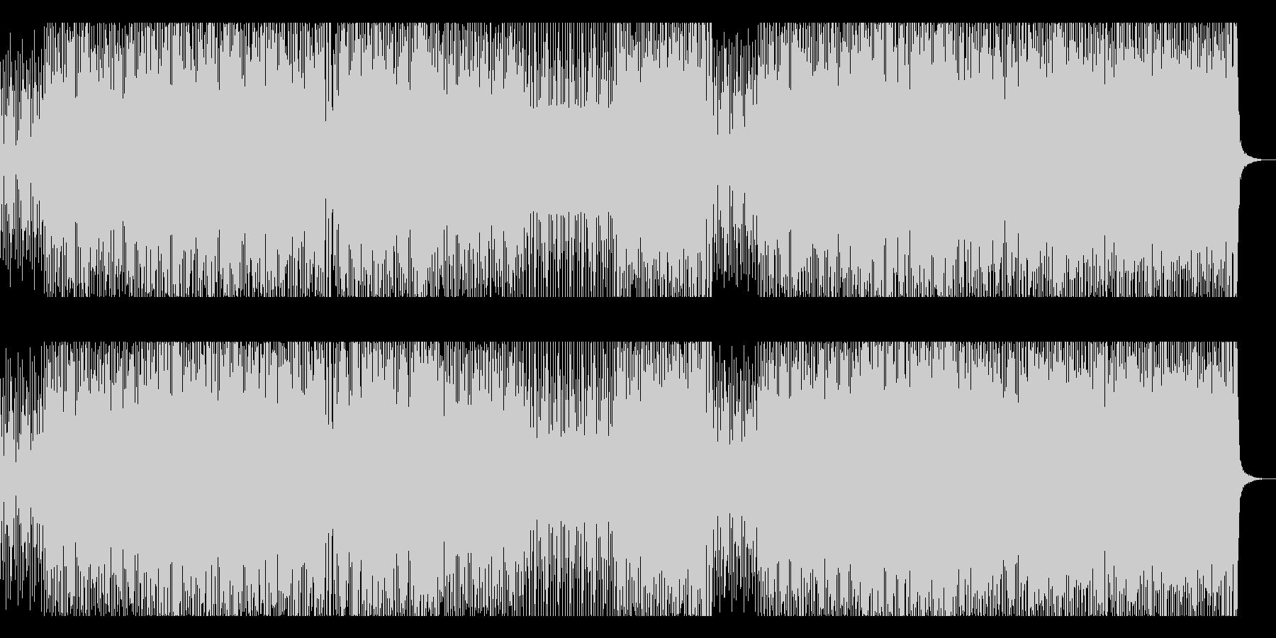 闘牛士をイメージしたフラメンコギターの未再生の波形