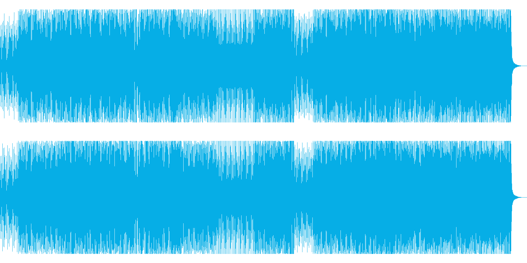 闘牛士をイメージしたフラメンコギターの再生済みの波形