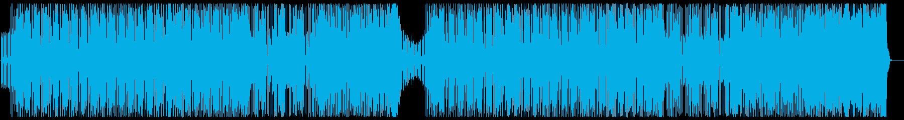 エネルギッシュなピアノダンスポップ声有りの再生済みの波形