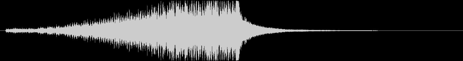 ドラムロールE(長め・シンバル有り)の未再生の波形