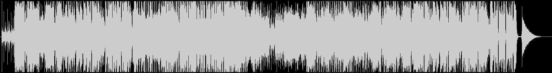 追跡や調査などによく合うジャズ風BGMの未再生の波形