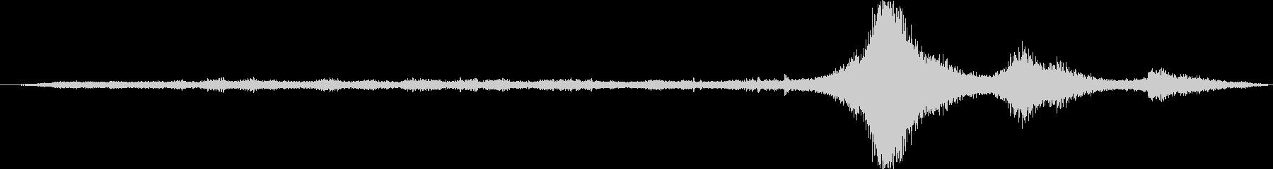 メタルローラーコースター:群衆の叫...の未再生の波形