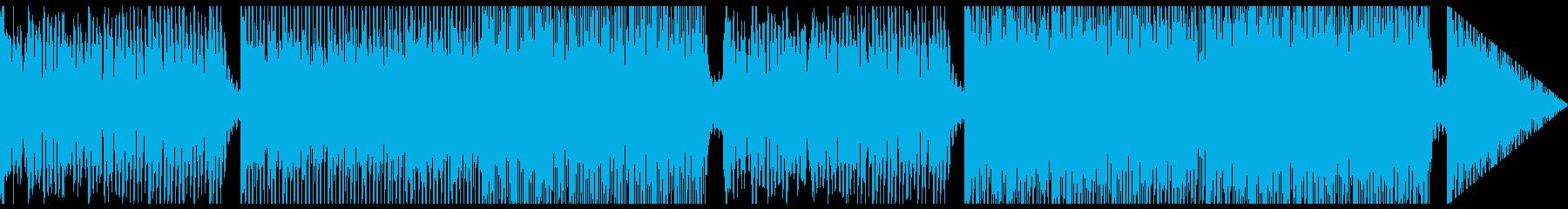 おしゃれなストリングスハウスの再生済みの波形