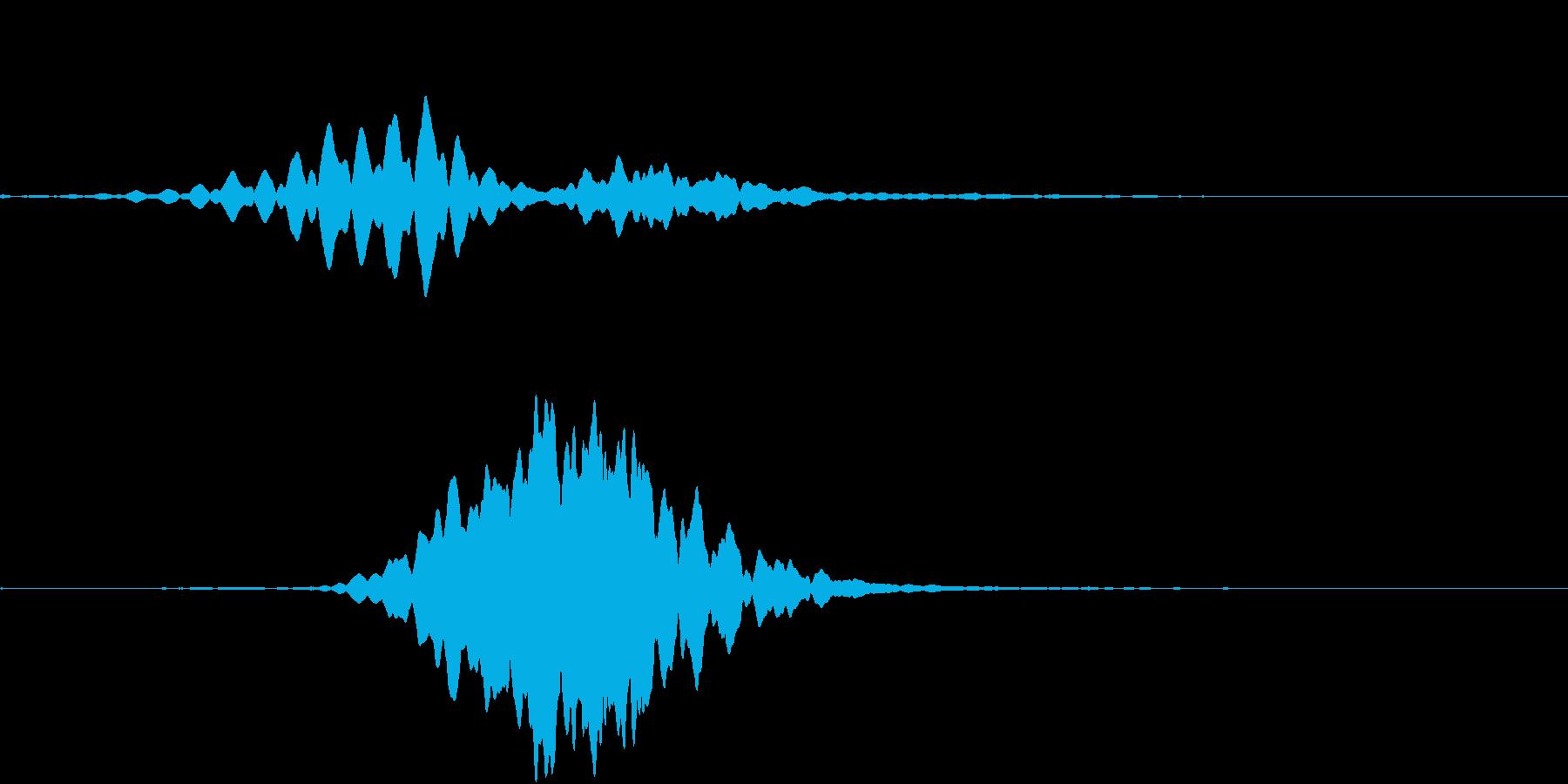 DramaFX 不安を感じるSEの再生済みの波形