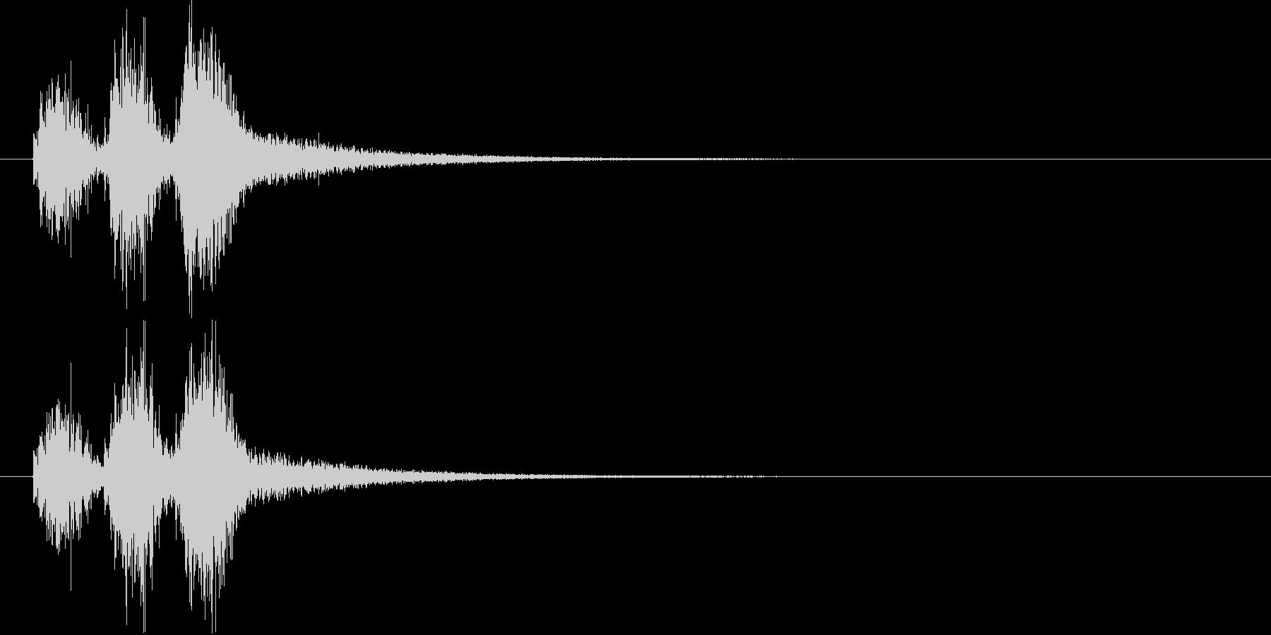勢いのあるシンセ・シンバルなど短めの未再生の波形