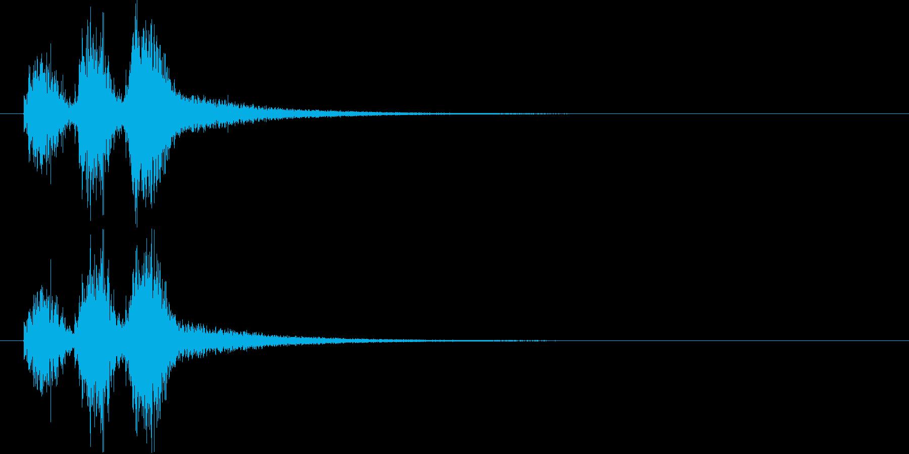 勢いのあるシンセ・シンバルなど短めの再生済みの波形
