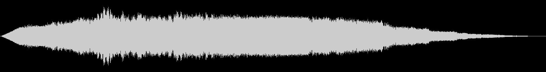 ワープフィールド5の未再生の波形