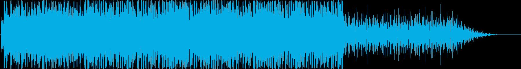 アシッド、BGM、近未来の再生済みの波形