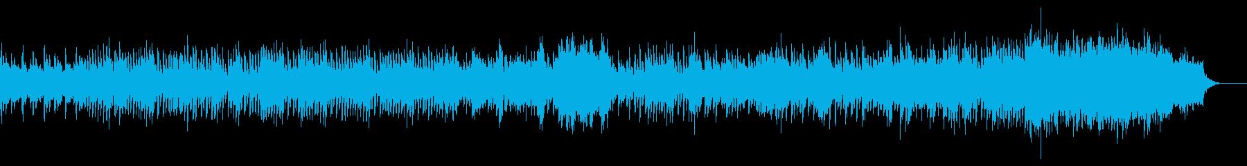 コミカルな和風BGM(盛り上げに!)の再生済みの波形