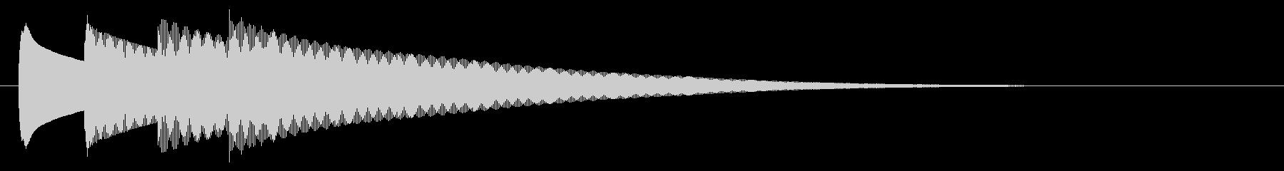 チャイム アナウンス09-3(4点 速いの未再生の波形