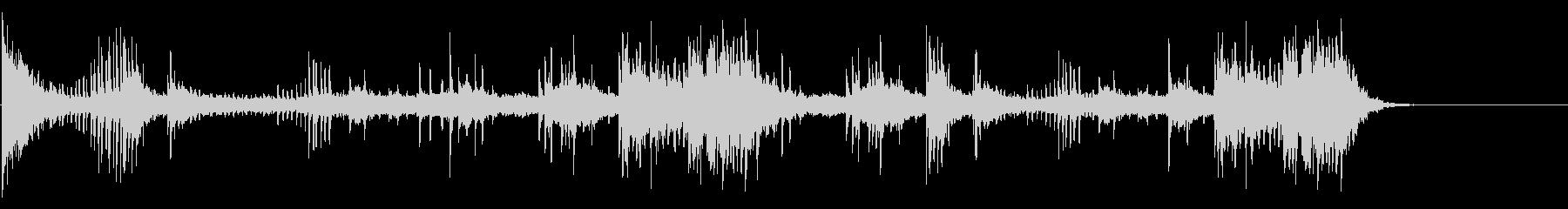 エスニックなFXサウンドの未再生の波形