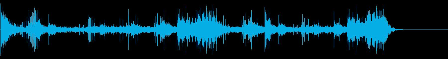 エスニックなFXサウンドの再生済みの波形