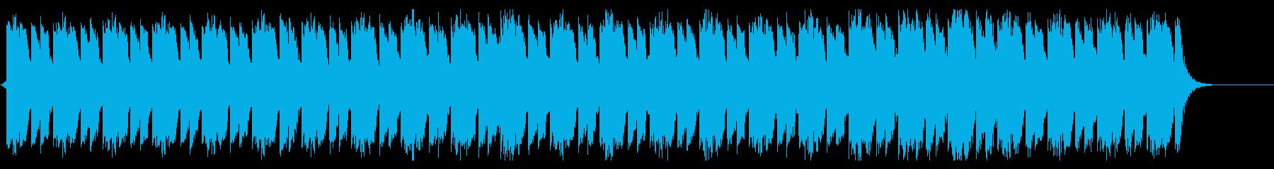 奇怪なインダストリアルアンビエントの再生済みの波形