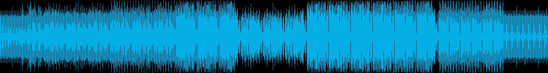 ディープ・ハウス。離調サックス。の再生済みの波形