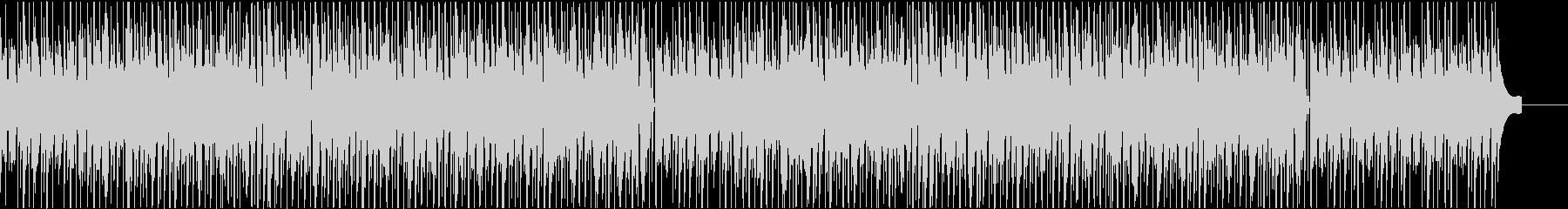 温かい気持ちになるほのぼの系のBGMの未再生の波形