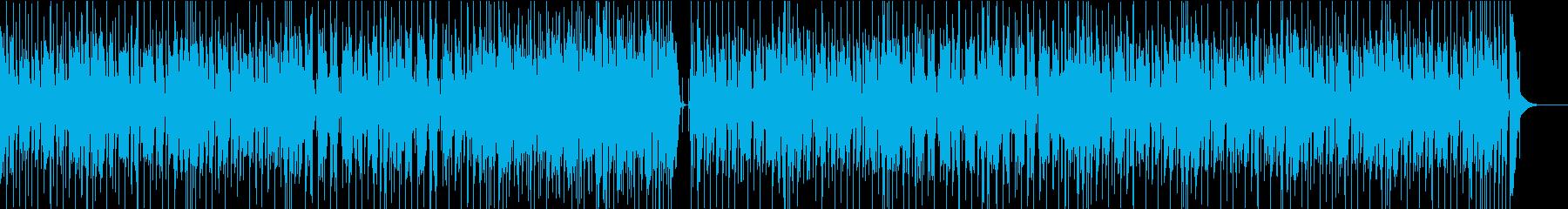 ファンク/アコギ/かっこいい/ノリノリの再生済みの波形