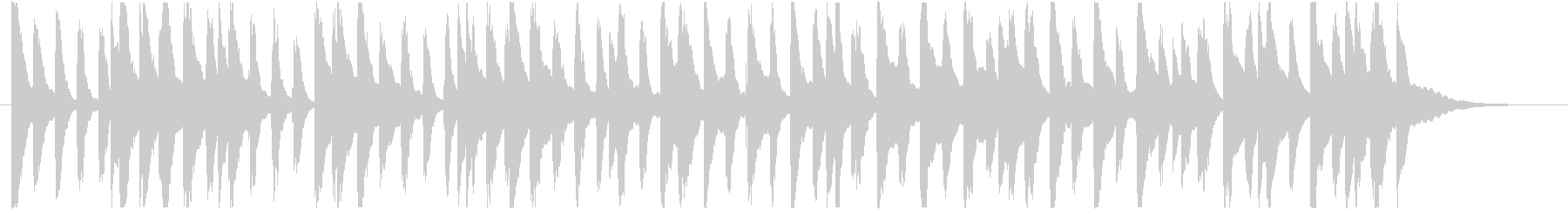 楽しくコミカルなBGM(30秒ver)の未再生の波形