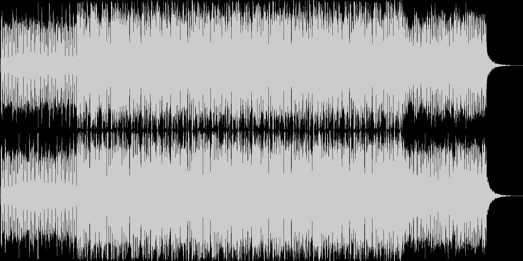 コーラスが独特な世界観のダークな楽曲の未再生の波形