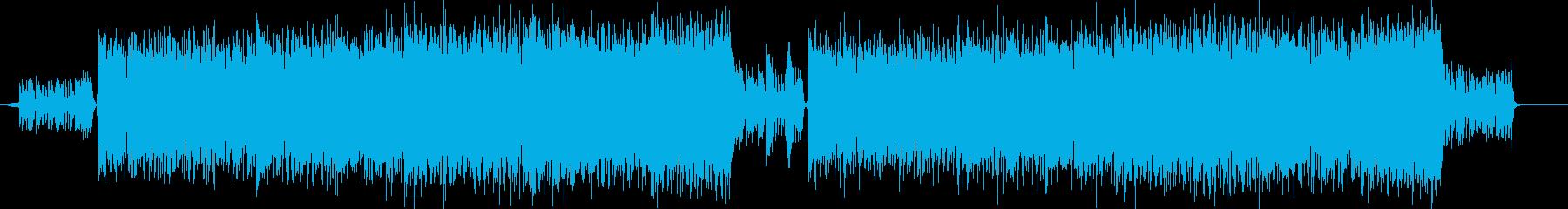 トラップを使ってきそうな中ボス戦の曲の再生済みの波形