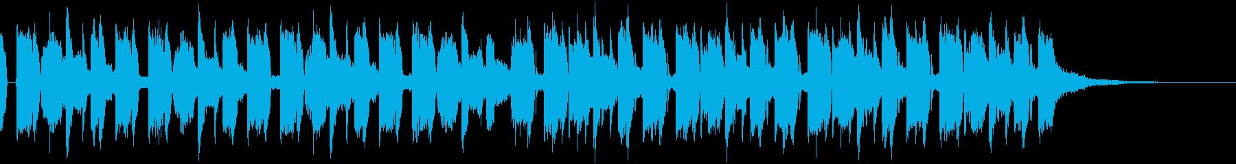 EDM・わくわくほのぼの・優しいジングルの再生済みの波形