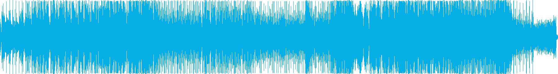 爽やか・スポーティーなフューチャーベースの再生済みの波形