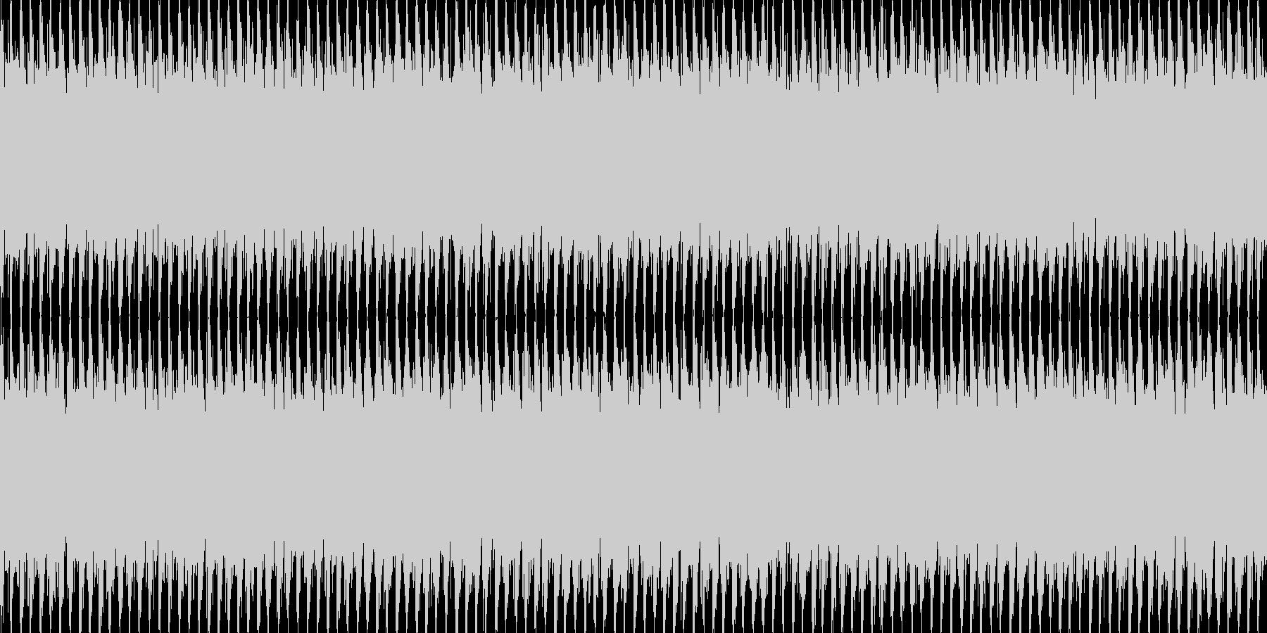 ニュースや映像、ループ可能なテクノ2の未再生の波形