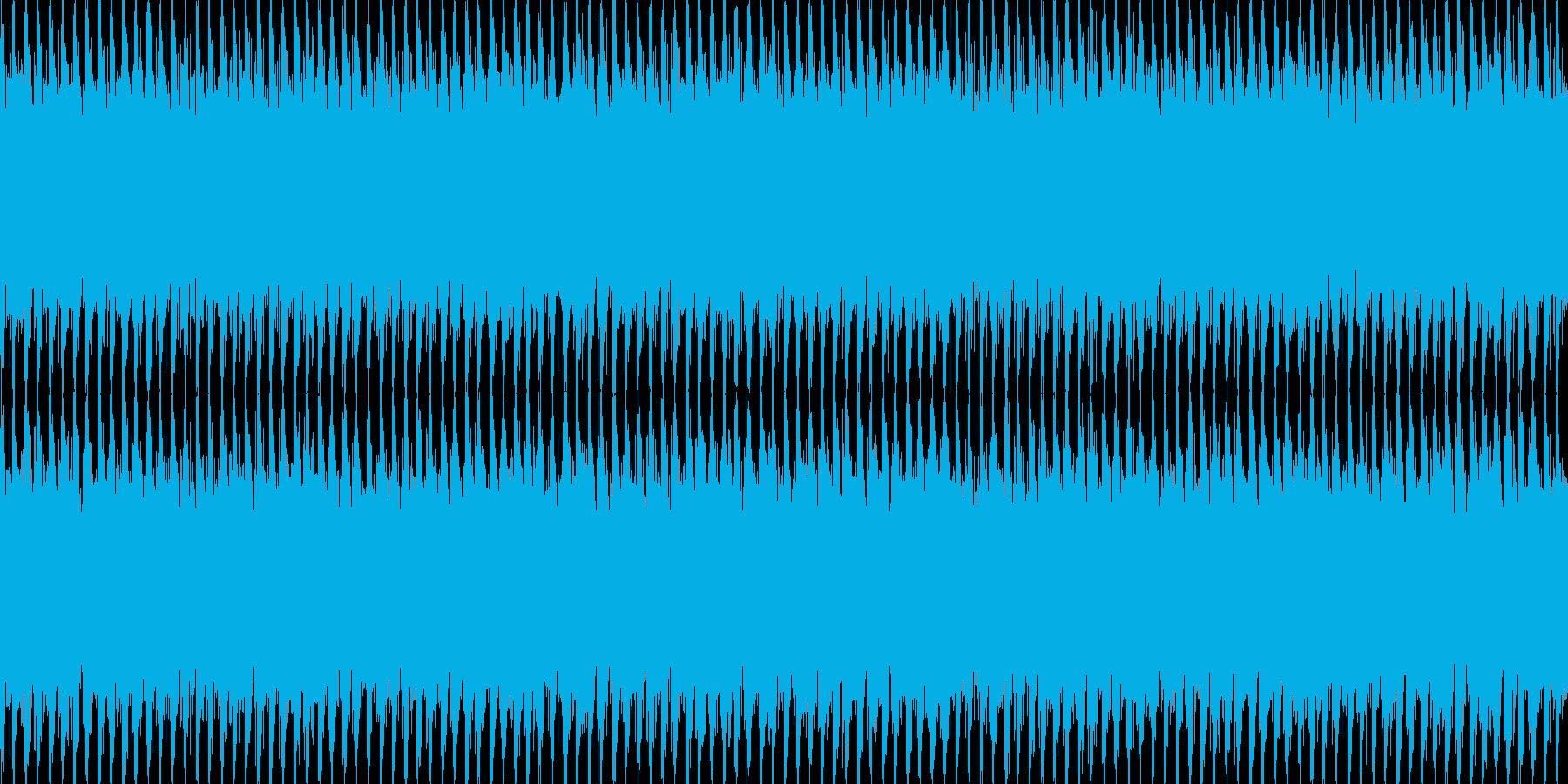 ニュースや映像、ループ可能なテクノ2の再生済みの波形