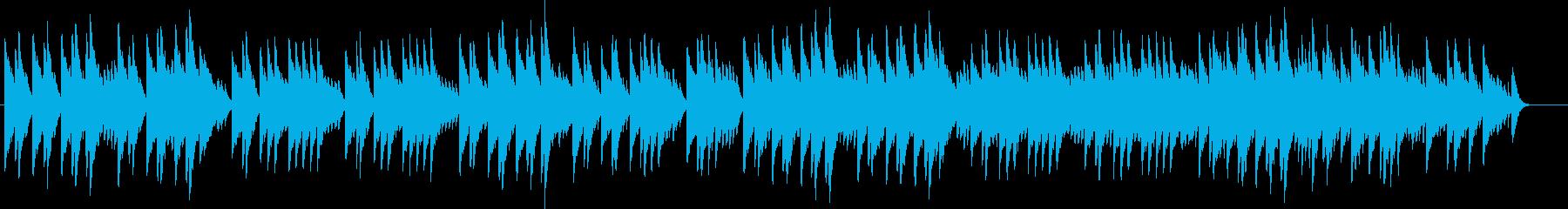 新世界より第2楽章「家路」(オルゴール)の再生済みの波形