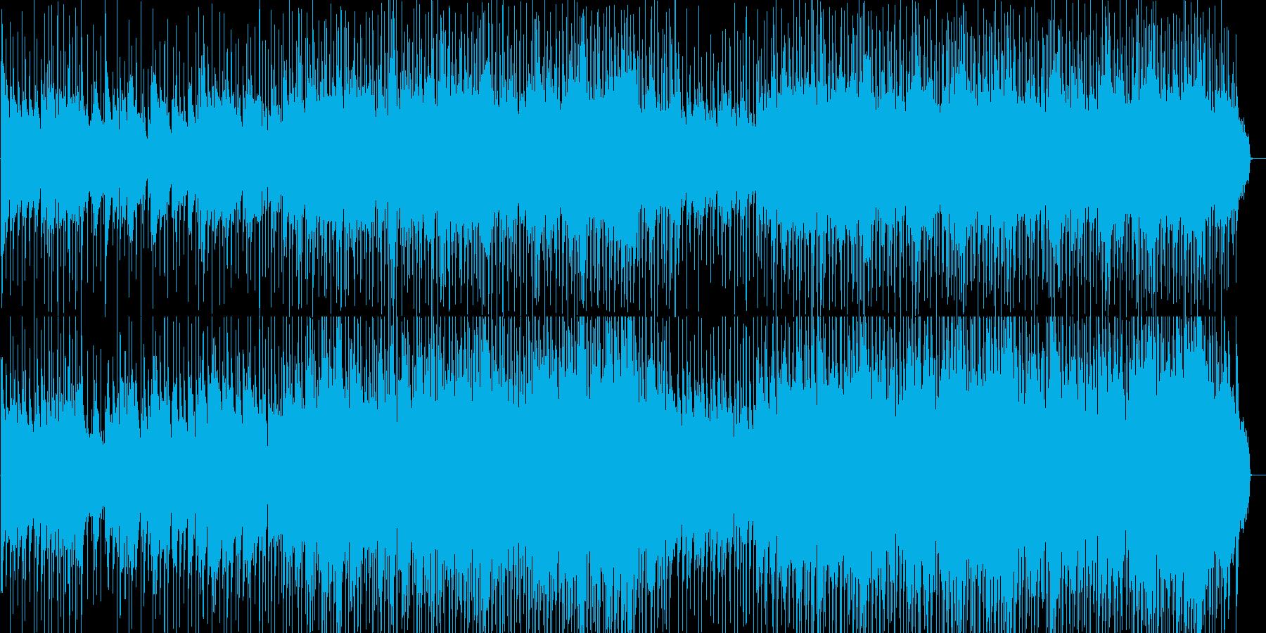 ドラマなどに使える感動的なポップスの再生済みの波形