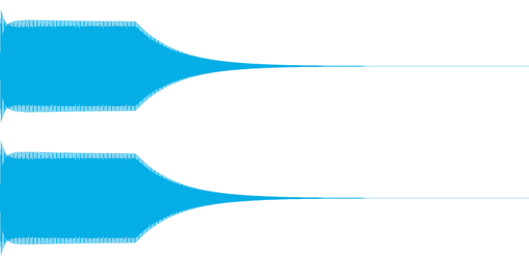 【ボタン・クリック・選択・決定】電子系の再生済みの波形